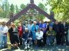 Te Hiku Forum members celebrate the signing